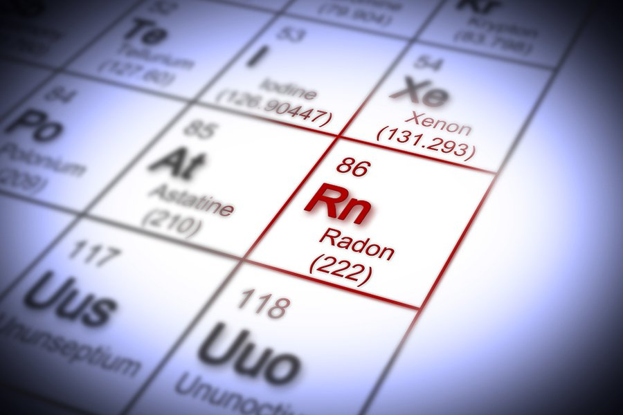 Radon In Periodic Table of Elements